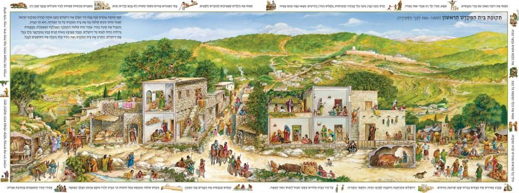 רחוב בירושלים בית המקדש