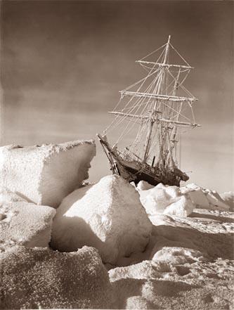 האנדיורנס תקועה בקרח