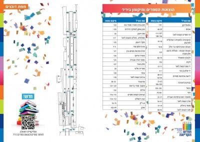שבוע הספר ירושלים -מפת התמצאות 2015