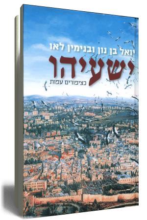 ישעיהו בני לאו ויואל בן נון - עטיפת הספר