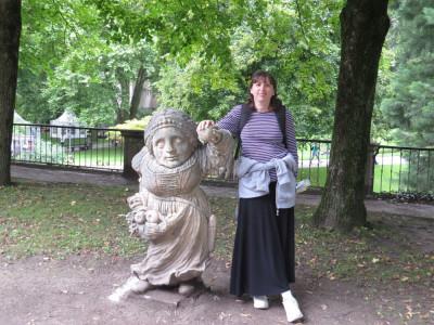 פסלי הגמדים גני מיראבל