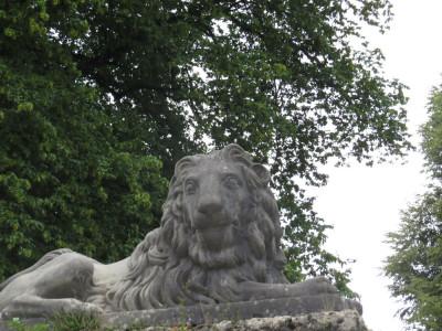 פסל האריה בגני מיראבל