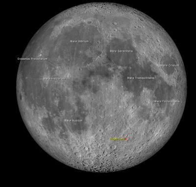 מכתש רבי לוי בירח