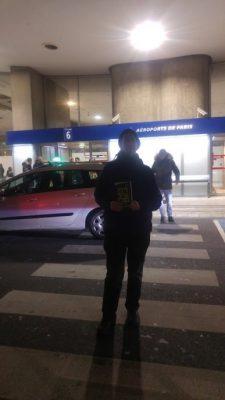 קר וחושך בשדה התעופה דה גול
