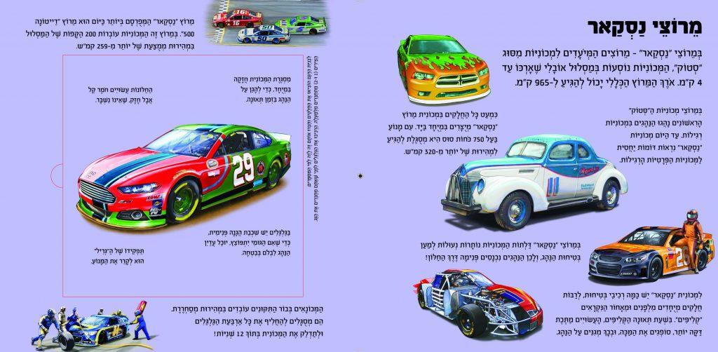 מרכיבים מכוניות מירוץ בתלת מימד
