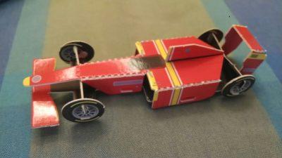 דגם מכונית מירוץ