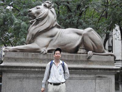 אריה ואני בניו יורק