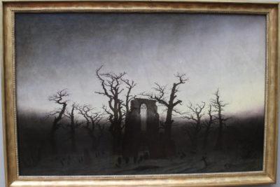 חורבות הכנסייה - קספר דויד פרידריך